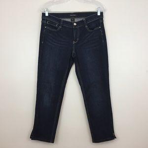 White House Black Market Women's Jeans Size 4 Noir